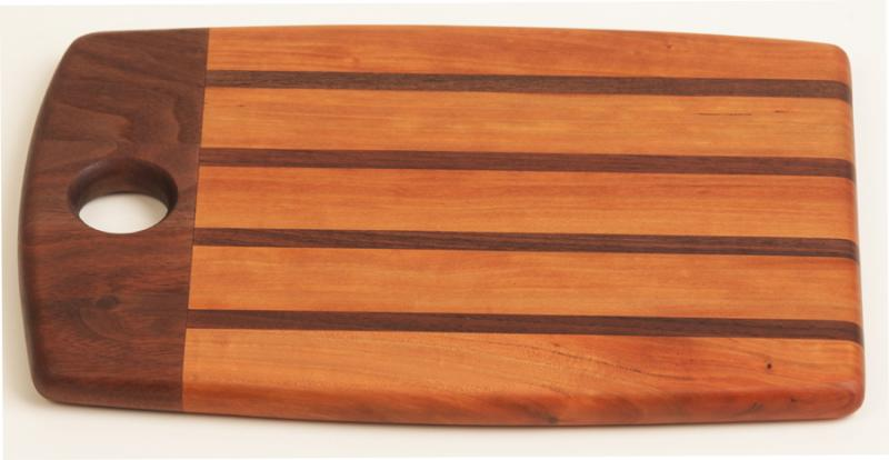 Cherry Designer Cutting Board Jerry Hollon Woodworking
